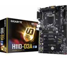 Gigabyte GA-H110M-D3A 2xDDR4 Soc-1151 Intel H110 m