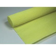Бумага гофрированная 50см*250см желтая 126529
