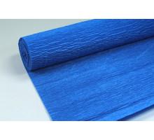 Бумага гофрированная 50см*250см синяя 126535