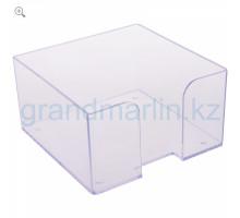 Бокс д/бумажного блока СТАММ ПЛ61 пластм.прозрачны