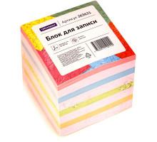 Блок д/записи Office Spaec 8*8*4см цветной 263620