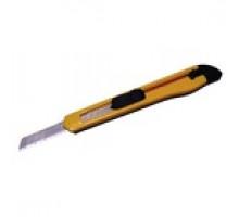 Нож канцелярский 9мм СТАФФ