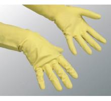 перчатки ГЛОВ ПРОФ1пара L резиновые плотные синие