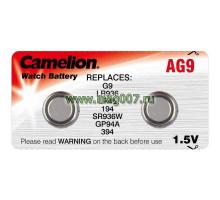 Батарейка Camelion AG09 часовая