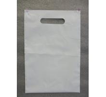 Пакет с прорубной ручкой ПНД  Акварель 38*45
