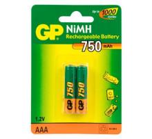 Аккумулятор GP 750mAh HR03