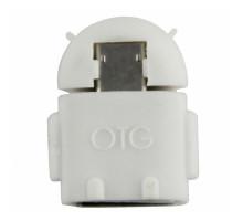 переходник OTG micro ( Андройд) белый