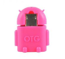 переходник OTG micro ( Андройд) красный