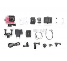 Экшн камера Sports 4000 розовый