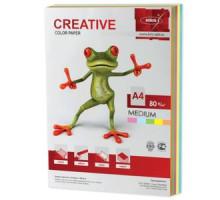Бумага CREATIVE Color  A4 80г/м 250л цвет. медиум