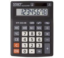 Калькулятор наст. СТАФФ STF-222 8-разр
