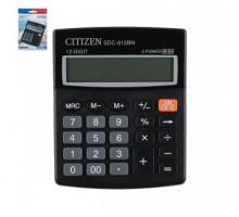 Калькулятор Citizen 12 разр 157*200*35 черн. 1201