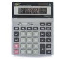 Калькулятор наст. СТАФФ STF 1712  металл.250121