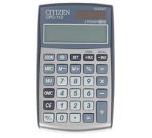 Калькулятор Citizen CPC-112BKWB (12разр 2пит чер)