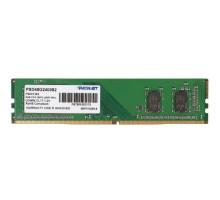 Память DDR4 8GB 2400MHz PC19200 CL17 1.2V Patriot