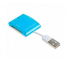 Картридер SmartBuy SBR713-В голубой