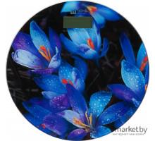 Весы Home Element  НЕ-SC908 напольные синие крокус