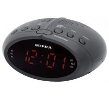 Радиочасы SUPRA SA-24FM черно/красный
