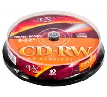 CD-RW VS 700Mb 4-12x Cake box/25