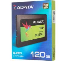 Накопитель SSD A-Data SATA III 120Gb ASU650SS-120G