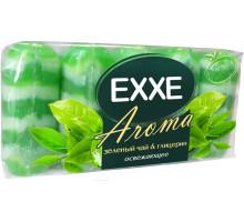 крем-мыло  EXXE зеленый чай и глицерин 5*70 6269
