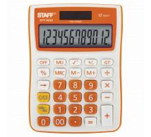 Калькулятор наст. СТАФФ STF 6222 оранжевый 250292