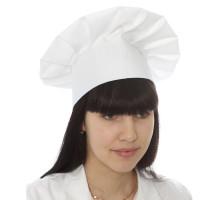 Колпак повара, 58*60 см, цвет белый