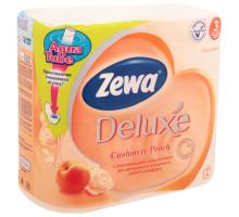 т/б ЗЕВА 3-х слойная 4шт розовая персик