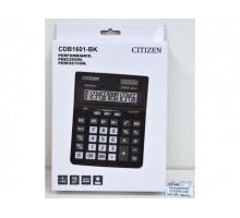 Калькулятор Citizen 16раз. CDB1601-ВК черный