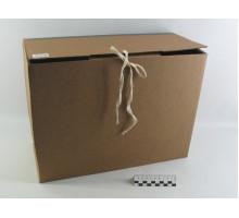Короб архивный 38*17*28см вертикальный на завязках