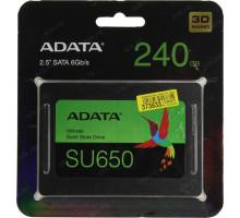 Накопитель SSD A-Data SATA III 240Gb ASU650SS-240G