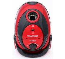 пылесос  WILLMARK VC -1842DB красный