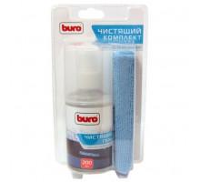 Набор BURO для экранов,оптики, гель200мл+ салфетка