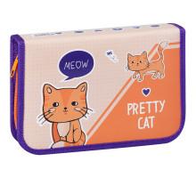 "Пенал 1 одел. СПЕЙС ""Pretty cats"" 29088"