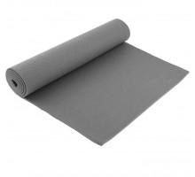 Коврик для йоги 173*61*0,4 цвет серый 4466013