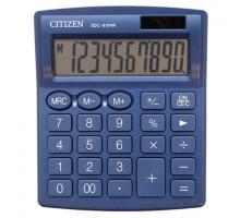 Калькулятор Citizen SDC-810 темно-синий 250529