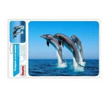 коврик BURO пластиковый, Дельфины BU-M40083