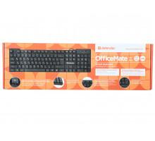 Клавиатура Defender  MM Office Mate HB-260 USB чер