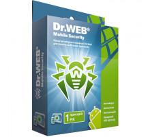ПО Dr.Web Security Mobile скретч-карта  на1год на1