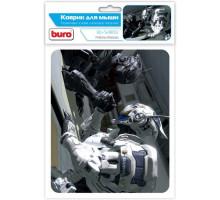 Коврик  BURO резина+шелк Роботы