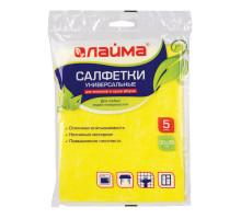 салфетка ЛАЙМА 30*38 вискоза универсальные