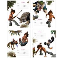Тетрадь 12л (клетка) Полиграфика The Croods 33229