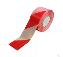 Лента сигнальная красно-белая 50*150мм
