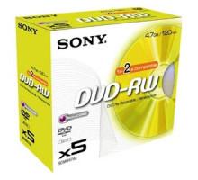 DVD-RW Sony 4.7Gb, 2x Jewel Case