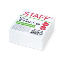 Блок д/записей STAFF 8*8*4см непрокл. белый 126368