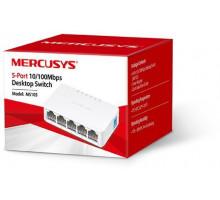 Коммутатор Mercusys MS105 5*100mb