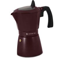 Кофеварка гейзерная Burgundy-6C Polaris бордовая