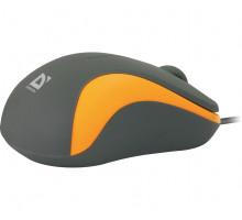 Мышь Defender ACCURA MM-970 серая/оранжевый