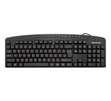 Клавиатура Defender Atlas  HB-450 RU USB черная