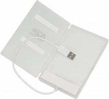 Внешний корпус для HDD AgeStar SUBСP1 USB2.0 белый